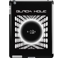 Black Hole Formula iPad Case/Skin