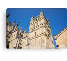 exeter cathedral Canvas Print
