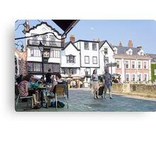 exeter square Canvas Print