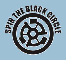 Spin the black circle Kids Tee