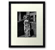Portrait, Colosseum, Rome   Framed Print