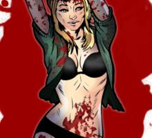 Audrey Comic Book  Sticker