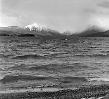 Lake McDonald in Spring by Rodney Johnson