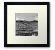 Lake McDonald in Spring Framed Print