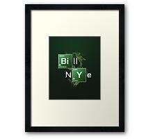 Bill Nye the Science Guy Framed Print