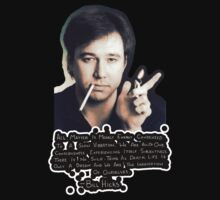 Bill Hicks with Quote by FreonFilms