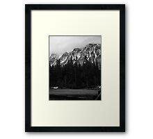 Mt. Brown, Glacier N.P. Framed Print