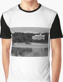 Big White House Graphic T-Shirt