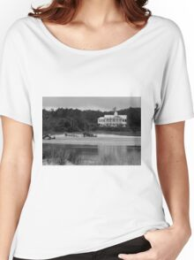 Big White House Women's Relaxed Fit T-Shirt