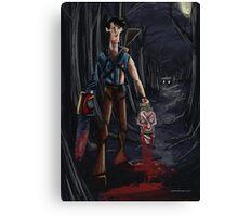 Evil Dead Ash Canvas Print