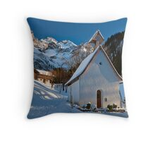 Einoedsbach (Allgaeu) Throw Pillow