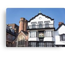exeter buildings Canvas Print