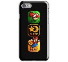 Eat Sleep Play iPhone Case/Skin