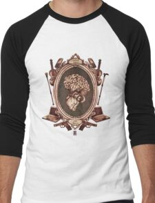 "serie ornate : ""sherlock"" Men's Baseball ¾ T-Shirt"