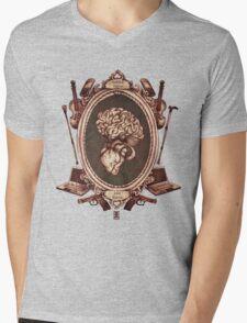 """serie ornate : """"sherlock"""" Mens V-Neck T-Shirt"""