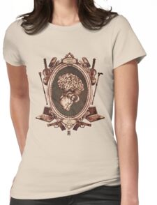 "serie ornate : ""sherlock"" Womens Fitted T-Shirt"