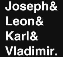 Joseph & Friends - White Text by SerLoras