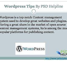 Get Quick WordPress Tips, Techniques & Best Practices by psdhelpline