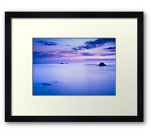 Evening in Saint Malo Framed Print