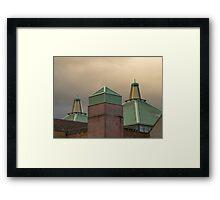 ST GILES CENTRE ELGIN Framed Print