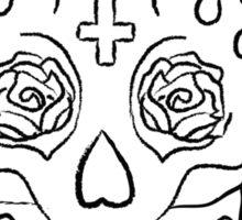 Sugar Skull (Smirking) Sticker