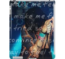 """Low"" } Sleeping With Sirens iPad Case/Skin"
