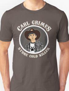 Carl Grimes - Stone cold killer T-Shirt