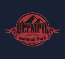 Olympic National Park, Washington Kids Tee