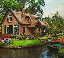 Fairytale House. Giethoorn. Venice of the North by JennyRainbow
