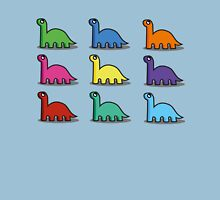 Multicoloured Dinosaurs Unisex T-Shirt