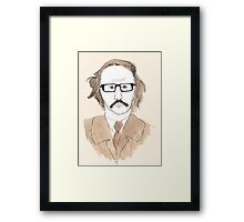Michael Fish Framed Print