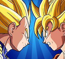Dragonball Z - Battle Time by StraightEK