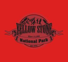 Yellow Stone National Park, Wyoming One Piece - Short Sleeve