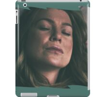 Meredith Grey - sleeping iPad Case/Skin