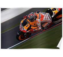 MOTO GP Marques Silverstone 2013 Poster