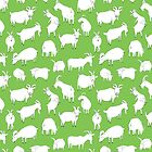 Charity fundraiser - Green Goats by Vicky Webb
