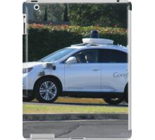 Google's Self-Driving Car iPad Case/Skin