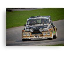 Renault Turbo ll Canvas Print