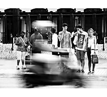The Moped Photographic Print