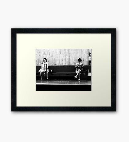 Disconnected Framed Print