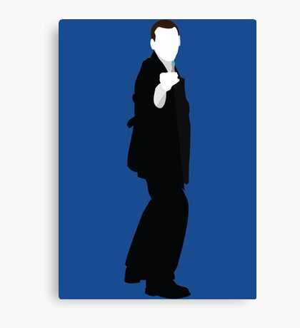 The Ninth Doctor - Doctor Who - Christopher Eccleston Canvas Print