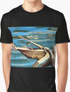 Big Mouth Pelican Graphic T-Shirt