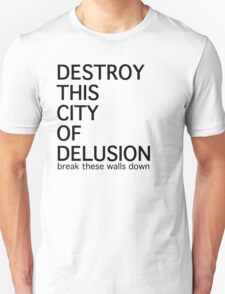 City of Delusion T-Shirt