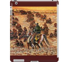 Driving The Herd, The Painting iPad Case/Skin