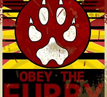 Furry Propaganda : Obey the Furry by WeAreTheW