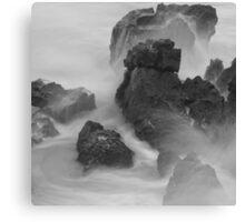 Rough Weather square Canvas Print