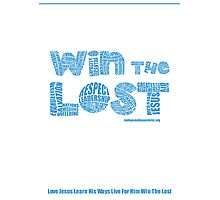 Four Fold Mission - Win The Lost Photographic Print