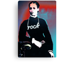 Rock chick! Canvas Print