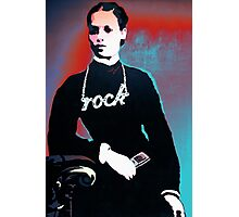 Rock chick! Photographic Print