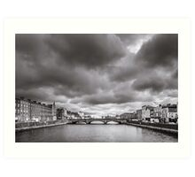 St Patrick's Bridge, Cork, Ireland Art Print